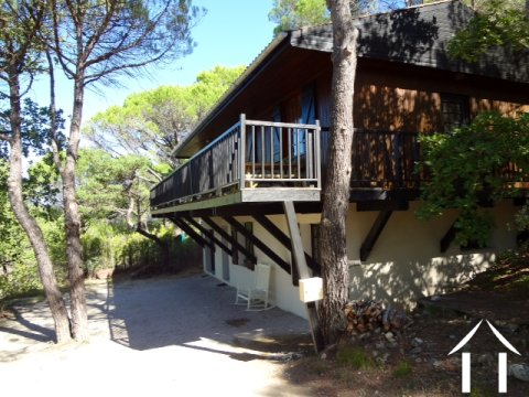 House with views in Mediterrenaen woods close to village Ref # 11-2199 Main picture