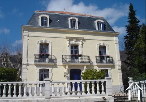 "Detached and renovated ""Maison de Maître"" with heated pool  Ref # 11-2404 Main picture"