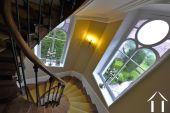 Beautiful winding staircase