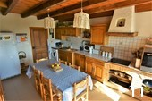 traditional family sized kitchen