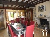 Charmantes Steinhaus mit schönen Gärten Ref # RT5088P bild 2 Living area with fireplace