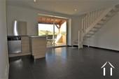 Wartungsarmes Ferienhaus mit toller Aussicht Ref # JP4961S bild 2 living room with practical corner kitchen