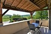 Wartungsarmes Ferienhaus mit toller Aussicht Ref # JP4961S bild 1 great views from the balcony