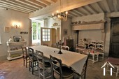 large dining room with character