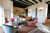 Charakteristisches Bauernhaus mit Blick auf den Morvan Ref # CR5086BS bild 2 Living