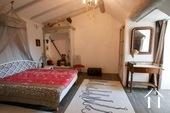 Charakteristisches Bauernhaus mit Blick auf den Morvan Ref # CR5086BS bild 3 Master bedroom