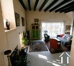 Charakteristisches Bauernhaus mit Blick auf den Morvan Ref # CR5086BS bild 7 View on Living from kitchen