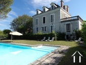 Manor house with pool
