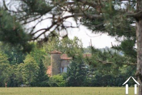 Chateau 16 eeuw /18 eeuw 600m2 met prachtig park 4 ha , zwembad en bijgebouwen. Ref # MP7101