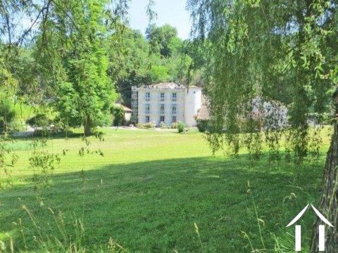 Domein met kasteel, 2 huizen en 7.5ha en een meer Ref # MP8056